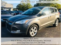 2013 Ford Escape Newport News
