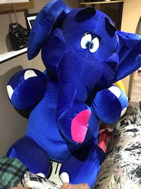 Blue elephant plush toy Toronto, M5H