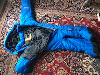 Selk body mummy sleeping bag youth medium 39 km