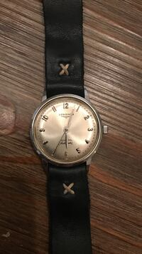 Vintage Watch - Longines Admiral Automatic - with Throne leather Watch band (band alone was 110) Washington, 20011