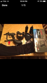 Selling a spyder paintball gun. Includes everything that's in a kit. If you are interested, plz contact me. 550 km