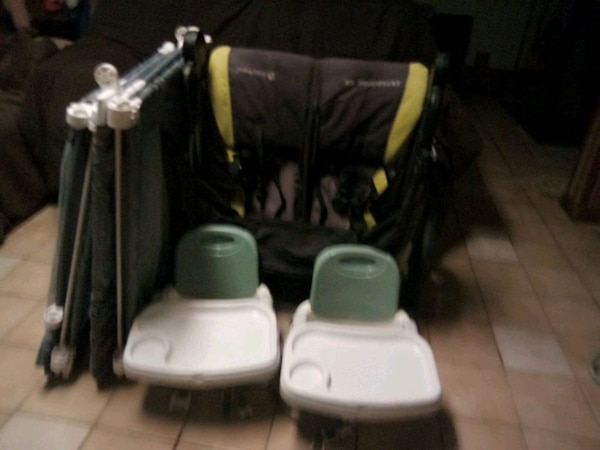 Double Stroller / baby gate/ highchairs  f28ad570-780a-4032-a126-1508cfe49781