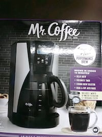 Used coffee maker. In original box  Mississauga, L4X 2A9