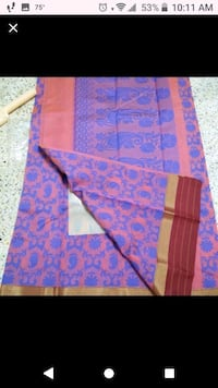 Cotton silk sarees with stitched blouse  Tysons, 22102