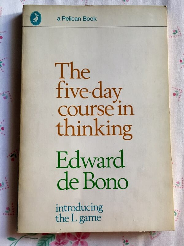 EDWARD DE BONO The 5-day course in thinking 0