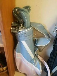 golf clubs set with leather bag Scottsdale, 85257