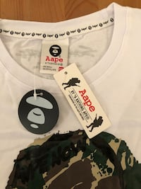 Bape T-shirt large brand new