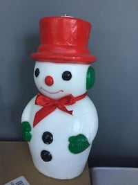 12 inch Christmas Snowman Candle Toronto, M6H 3A1