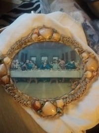 Luceno and sons Italian made shell last supper pic