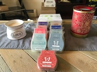 SCENTSY candle stuff paid over 200 just want 100 I'm moving in a week need gone ASAP Edmonton, T5A 3T6