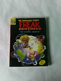 The Fabulous Furry Freak Brothers  Reno, 89502