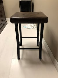 Faux leather counter height bar stool Oakville, L6M 0B7