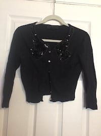 Black Bow Sequins Cardigan (size Small)  Oxnard, 93033