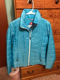 Columbia like new teal medium Omni heat jacket excellent condition  Forked River, 08731
