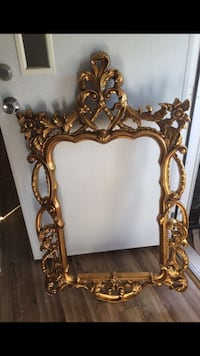 brown wooden framed wall mirror Woodbridge, 22193