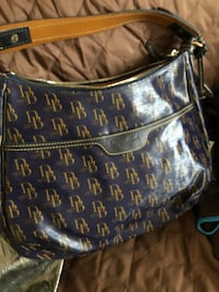 blue and white Louis Vuitton Monogram leather bag Uniondale, 11553