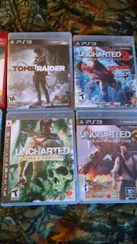 four assorted PS3 games  Loveland, 80537