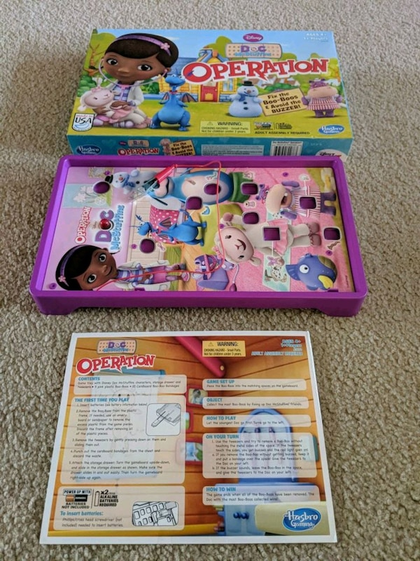 Doc McStuffins Operation (no pieces)