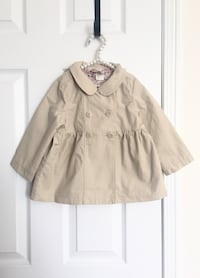 H&m baby girls trench coat size 12-18m- new with tags Mississauga, L5M 0C5