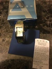 Beautiful  (Avon)Genuine Abalone Cuff watch ( never worn ) ..firm no holds London, N6J 2V9