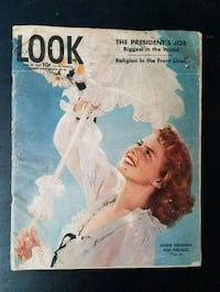 LOOK Magazine JULY 25, 1944 Herndon, 20170