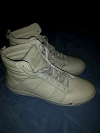 High top leather Pajar sneakers size 13