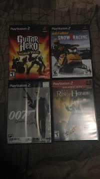 Four assorted sony ps2 game cases Halifax, B4E 3B1