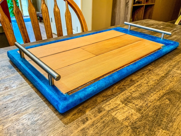 Reclaimed Antique Wood Serving Tray