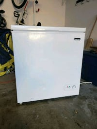 white Magic Chef single-door freezer Great Falls, 22066