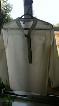 White with black detail cool shirt