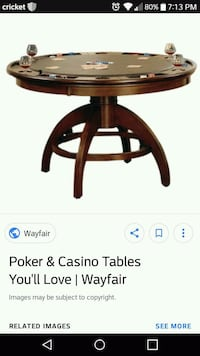 Poker table ( no chairs) Overland, 63114