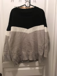 black, white, and gray sweater Toronto, M2N 7A1
