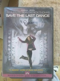 Save the Last Dance widescreen DVD case Las Cruces, 88007