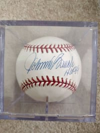 Johnny Bench Signed Baseball Tucson, 85745