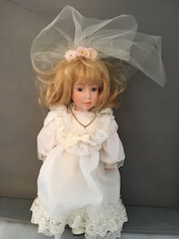 doll in white and pink dress Wake Forest, 27587