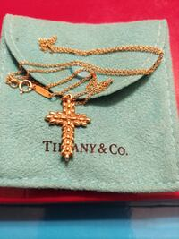 18 KT GOLD TIFFANY &  CO. AUTHENTIC NECKLACE