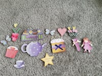 Nice Lot of Stickers Teapot Chocolate Flowers Etc.