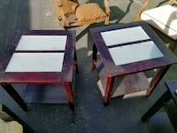 two rectangular brown wooden tables Westminster, 80031