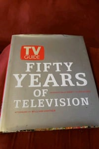 Collectible book 50 years of television  Lindenwold, 08021