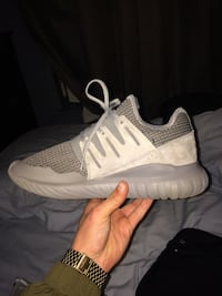 Grey Adidas Tubulars Size 8-1/2 Incline Village, 89451