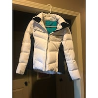 white and blue zip-up jacket Olathe, 66061