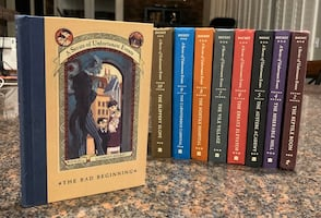 A SERIES OF UNFORTUNATE EVENTS LOT Hardcover