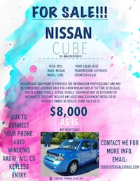 2013 Nissan Cube Sterling