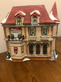 Lights up Hand painted Schoolhouse Randallstown, 21133