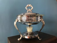 Vintage Silver Plates Chafing Dish Winchester, 22603
