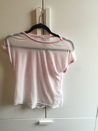 white and pink scoop neck shirt Longniddry, EH32 0TA