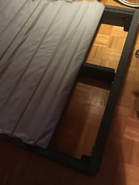 Black and gray bed frame (Casper)