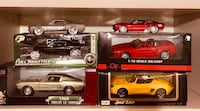 Ford Mustang Die Cast Metal Cars 536 km