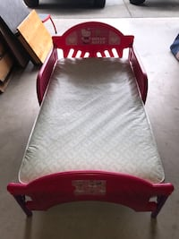 Hello kitty toddler bed and mattress Snohomish, 98296