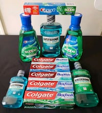 Colgate Max Toothpaste/Scope, Listerine Mouthwash  53 km